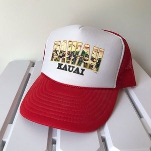 Vintage Hawaii Kauai truck hat